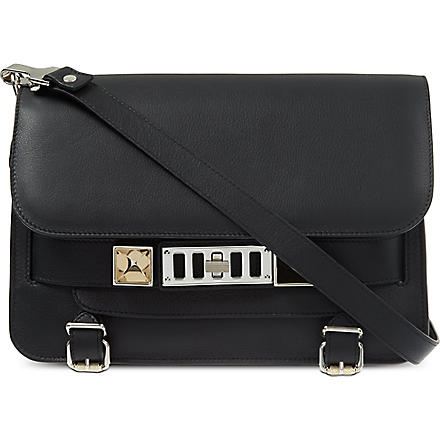 PROENZA SCHOULER PS11 leather shoulder bag (Black