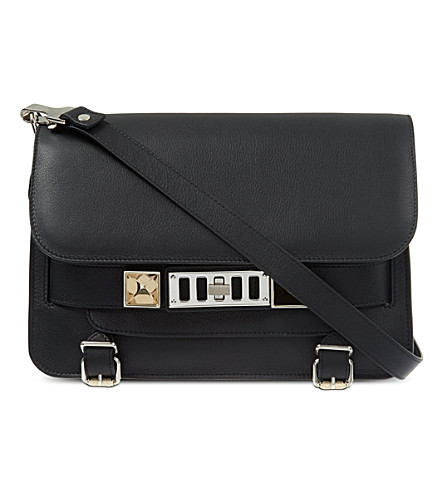 PROENZA SCHOULER PS11 leather shoulder bag (Black