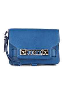 PROENZA SCHOULER PS11 leather wristlet clutch