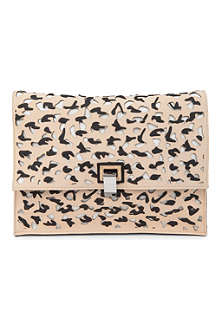 PROENZA SCHOULER PS leather large clutch
