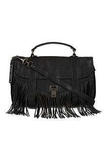 PROENZA SCHOULER PS1 medium fringed satchel