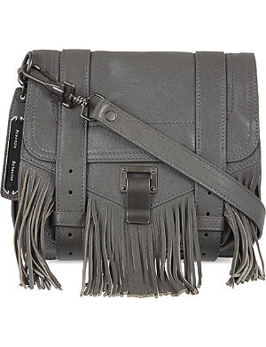 PROENZA SCHOULER Leather fringed satchel