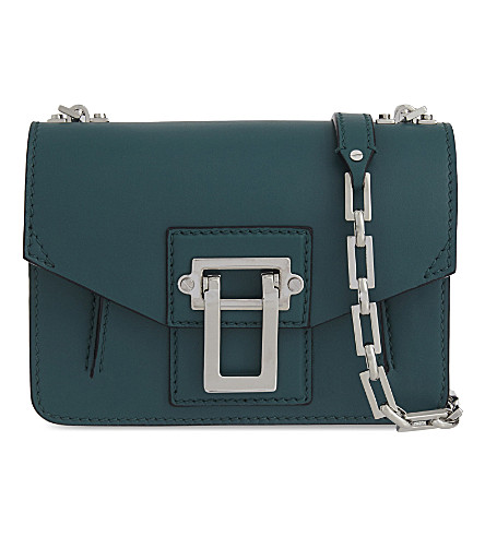 PROENZA SCHOULER Hava leather cross-body bag (Malachite