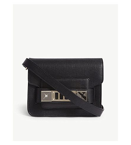 PROENZA SCHOULER PS11 saffiano leather cross-body bag (Black