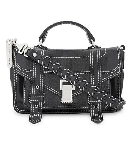 PROENZA SCHOULER PS1+ Tiny leather shoulder bag (Black