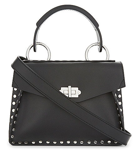 PROENZA SCHOULER Hava PS1 small leather cross-body bag (Black
