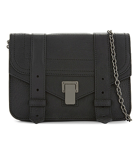 PROENZA SCHOULER Hava small leather shoulder bag (Black