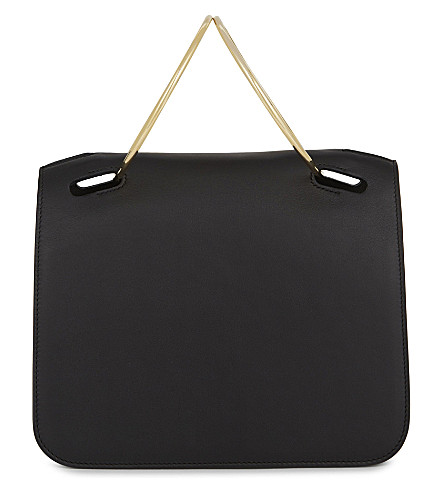 ROKSANDA Neneh leather mini tote (Black