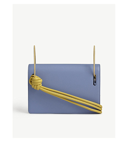 ROKSANDA Dia leather shoulder bag (Powder+blue