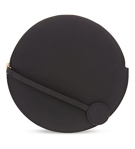 ROKSANDA Circular leather pouch (Black