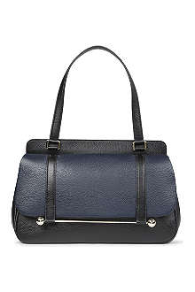RUPERT SANDERSON Two-toned leather shoulder bag