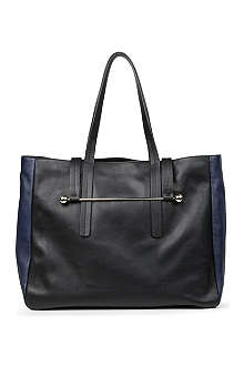 RUPERT SANDERSON Two-toned leather tote