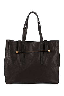 RUPERT SANDERSON Washed leather tote