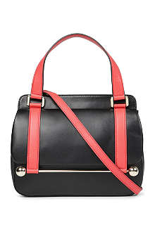 RUPERT SANDERSON Two-toned leather cross-body bag