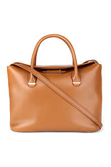 THE ROW Carry All small leather tote