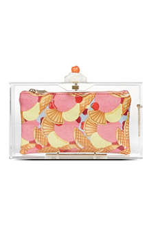 CHARLOTTE OLYMPIA Whipped cream clutch