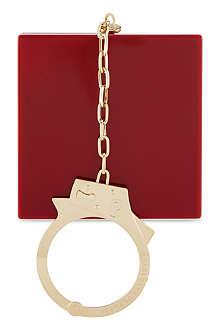 CHARLOTTE OLYMPIA Kinky handcuff clutch