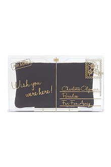 CHARLOTTE OLYMPIA Wish You Were Here Pandora clutch