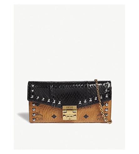 MCM Patricia cross-body wallet (Black
