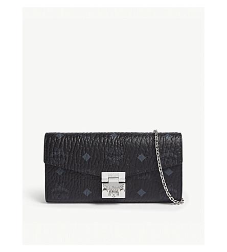 MCM Patricia leather cross-body bag (Black