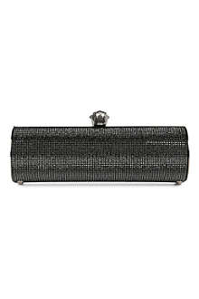 STARK Fierce silver clutch