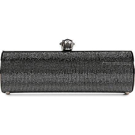 STARK Fierce silver clutch (Black