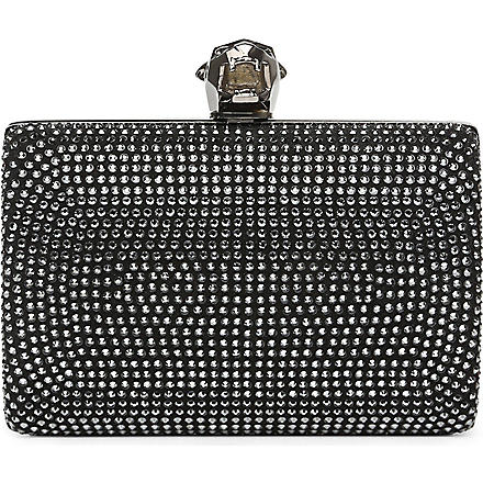 STARK Tamara crystal clutch (Black
