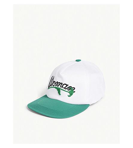 OFF-WHITE C/O VIRGIL ABLOH Woman cotton baseball cap (White