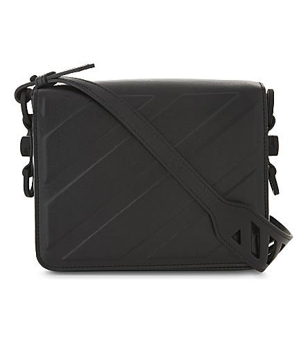 OFF-WHITE C/O VIRGIL ABLOH Industrial velvet shoulder bag (Black