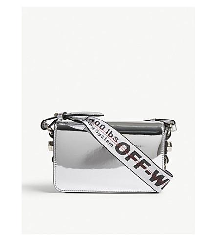 OFF-WHITE C/O VIRGIL ABLOH Metallic mini shoulder bag (Silver