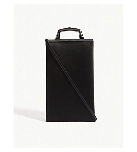 OFF-WHITE C/O VIRGIL ABLOH Market satin purse bag (Black