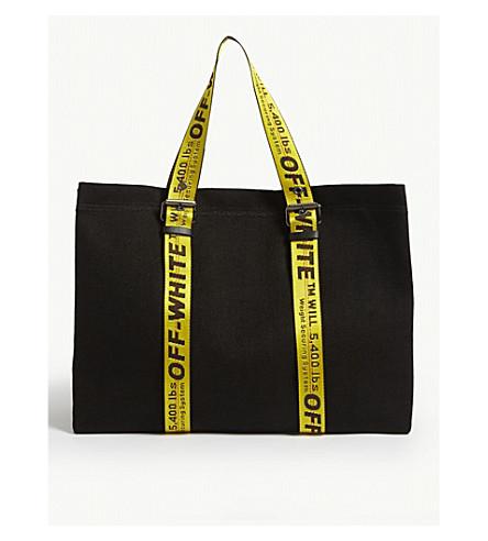 8e6b1747e412 ... OFF-WHITE C O VIRGIL ABLOH Canvas tote bag (Black. PreviousNext