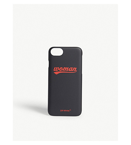 OFF-WHITE C/O VIRGIL ABLOH Woman iPhone 7 case (Black