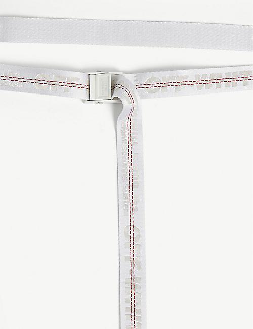 OFF-WHITE C/O VIRGIL ABLOH Mini industrial tape jacquard belt