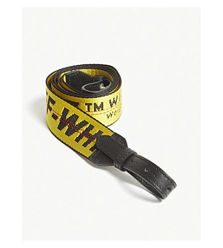 OFF-WHITE C/O VIRGIL ABLOH Logo shoulder strap (Yellow+blk