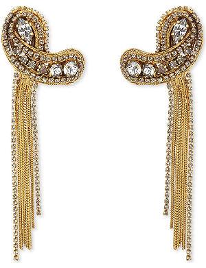 ERICKSON BEAMON Heart of gold earrings