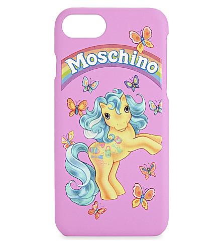 MOSCHINO My Little Pony iPhone 6/6s/7 case (Fuchsia