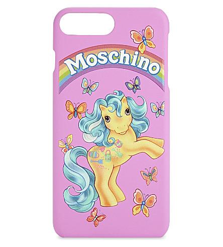 MOSCHINO My Little Pony iPhone 6/6s/7 plus case (Fuchsia