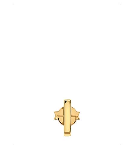 MISSOMA LTD 18ct gold vermeil single bar stud earring (Gold+vermeil