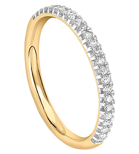 MISSOMA LTD Half Infiniity 18ct gold and diamond ring (Gold/diamonds