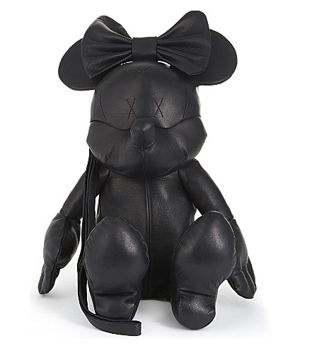 CHRISTOPHER RAEBURN Minnie Mouse leather bag (Black