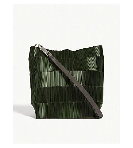 RICK OWENS Adri beaded shoulder bag (Sage