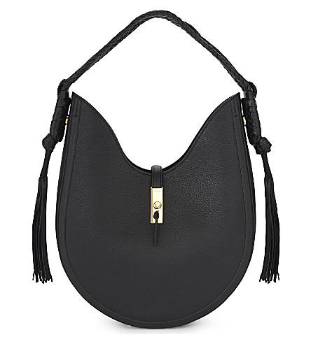 ALTUZARRA Ghianda leather hobo bag (Black