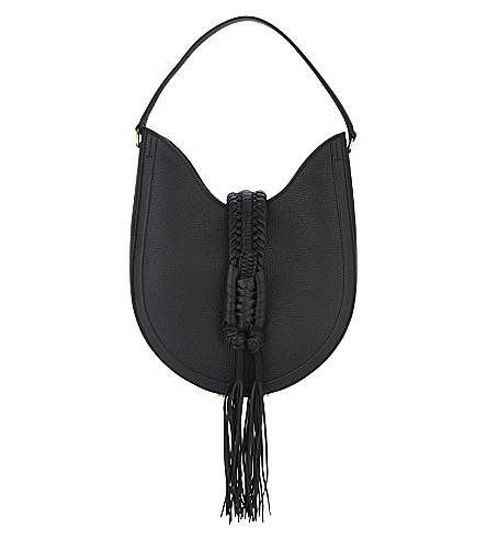 ALTUZARRA Ghianda leather hobo bag (Black
