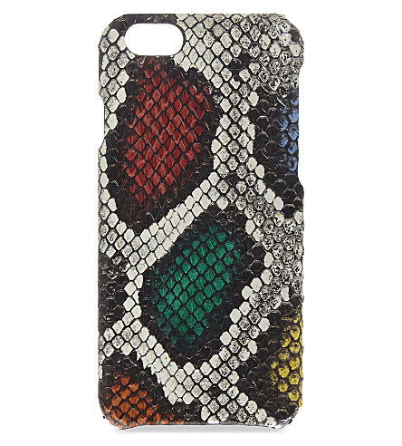 THE CASE FACTORY Water snake iPhone 6/6S case (Aquarello