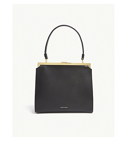 MANSUR GAVRIEL Elegant leather tote (Black