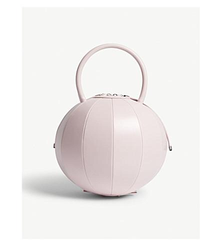 NITA SURI Pilo round leather handbag (Pink