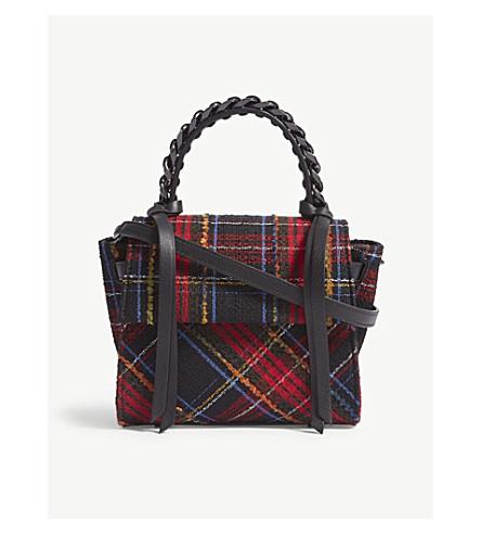ELENA GHISELLINI Angel extra small bag (Blk+red