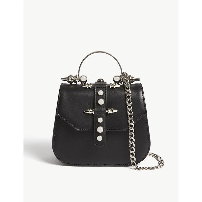 OKHTEIN Edge mini leather cross-body bag