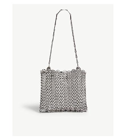 863e19a980dc ... PACO RABANNE Iconic chain shoulder bag (Silver. PreviousNext